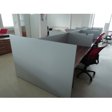 Комплект мебели в колл центр 8 рабочих мест, Бэнч Система-М