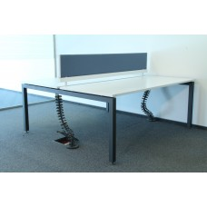 Система столов Sense Herman Miller 160х165 б\у, БЭНЧ-2602Б2М