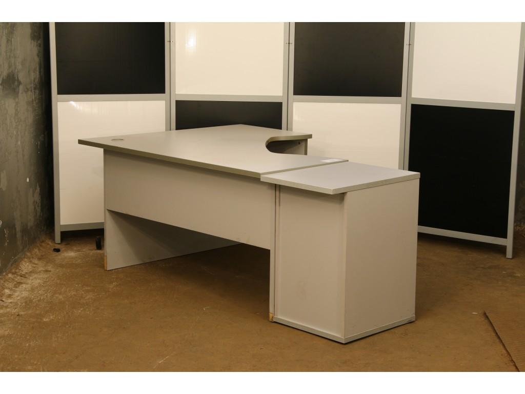 Стол офисный угловой, тумба приставная б\у, КОМПЛЕКТ-1003СТС