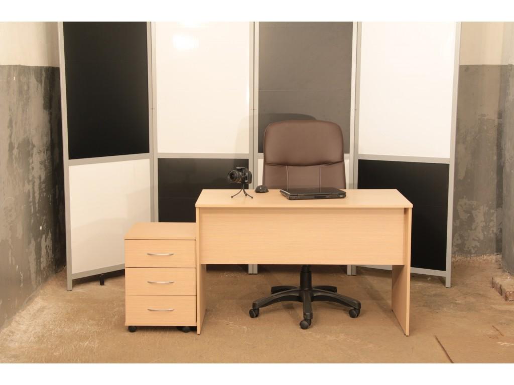 Комплект мебели в офис. Стол, тумба б/у, КОМПЛЕКТ-1801СТД