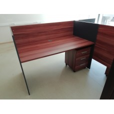 Стол офисный рабочий 160x81x114, Стол-СТ036