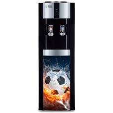 """Кулер для воды Ecotronic H1-LCE со шкафчиком + фото """"Футбол"""" (новый)"""