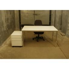 Комплект офисный стол, тумба б/у