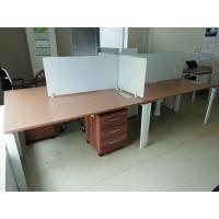 Офисный стол металлокаркас тумба б/у, Стол-СТ037