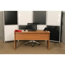 Стол офисный письменный 140х60 б\у, СТОЛ-2002МПО