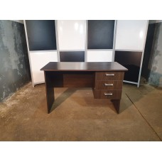 Стол офисный 120х70х75 венге с ящиками б/у